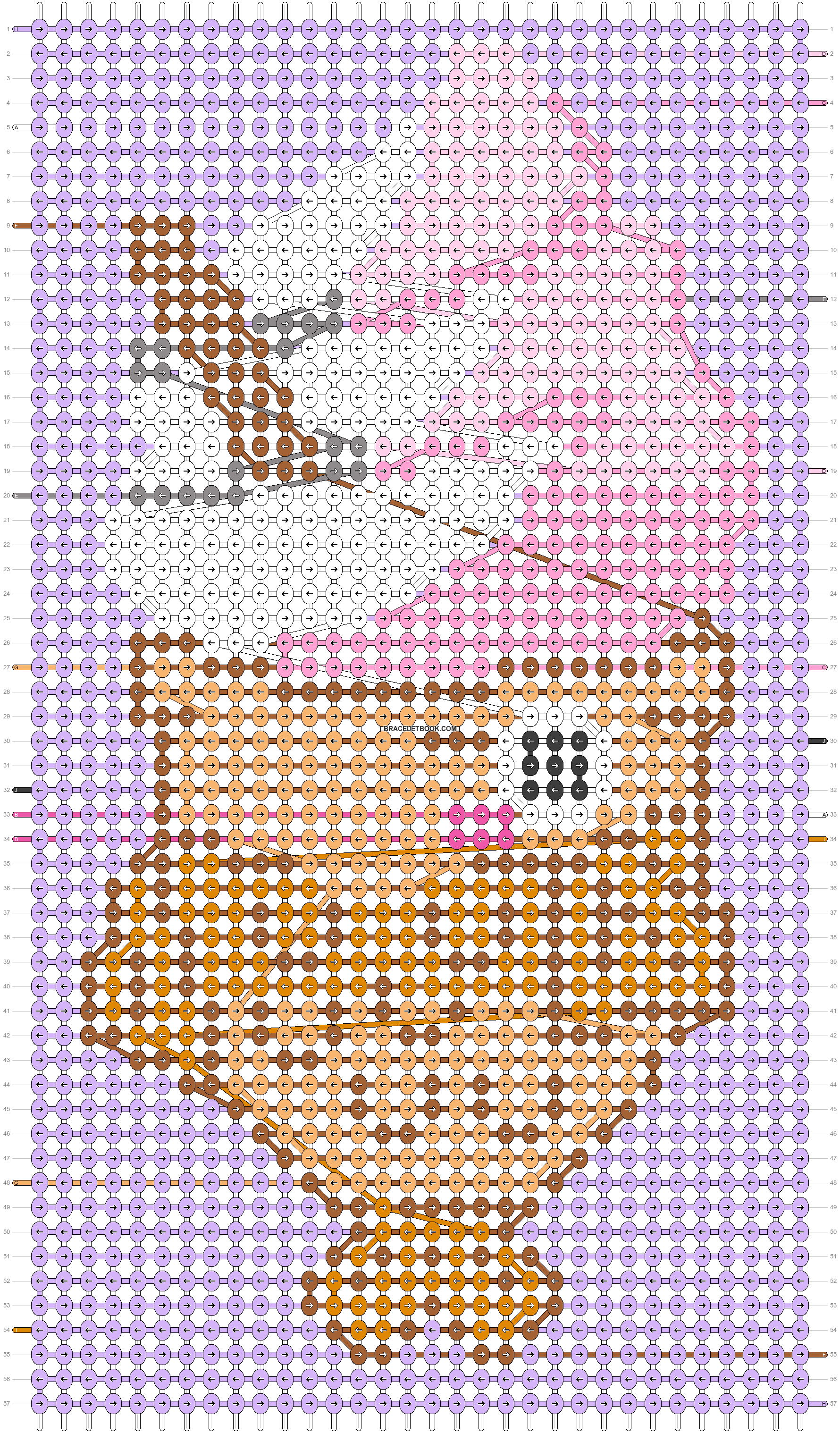 Alpha pattern #53733 pattern