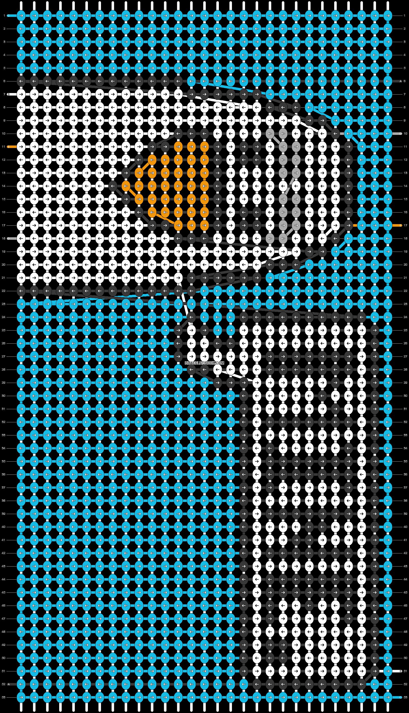 Alpha pattern #53771 pattern