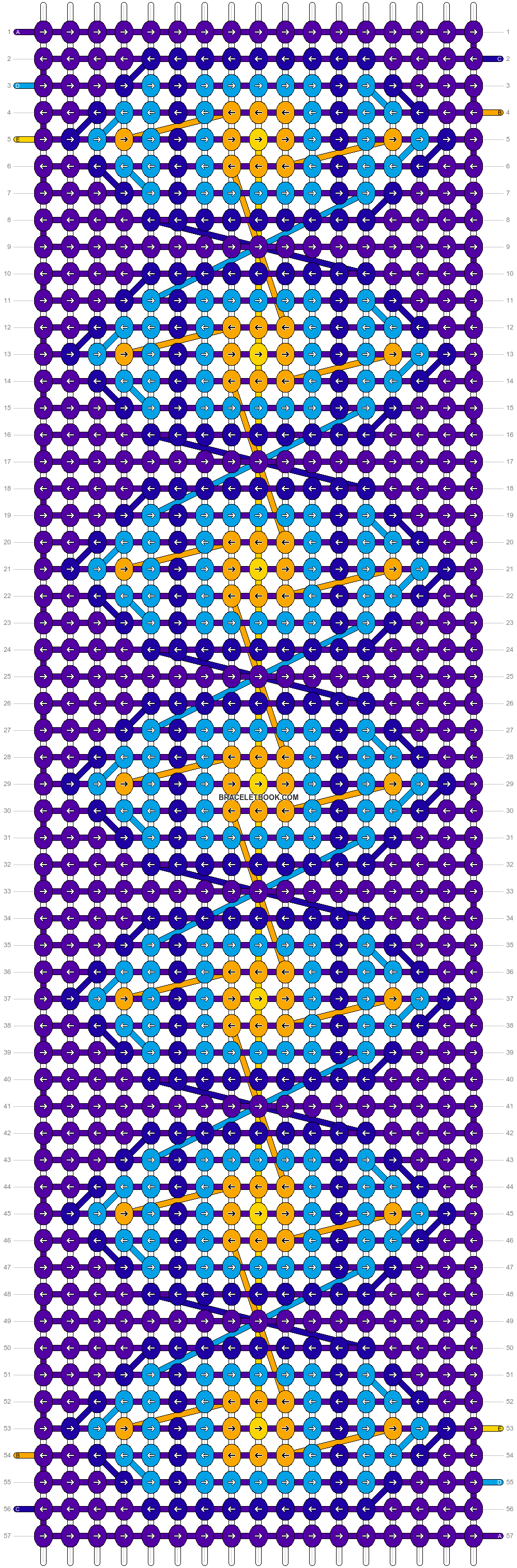 Alpha pattern #53848 pattern
