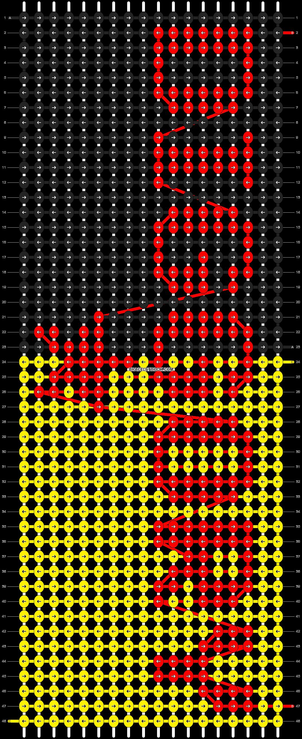 Alpha pattern #53850 pattern