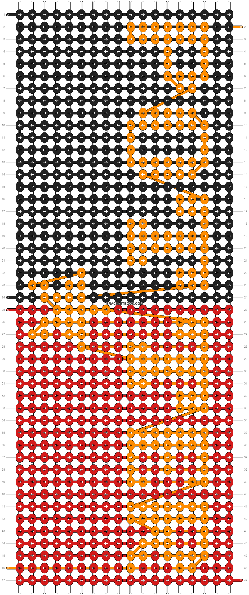 Alpha pattern #53851 pattern