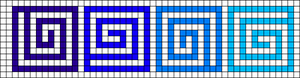 Alpha pattern #53852