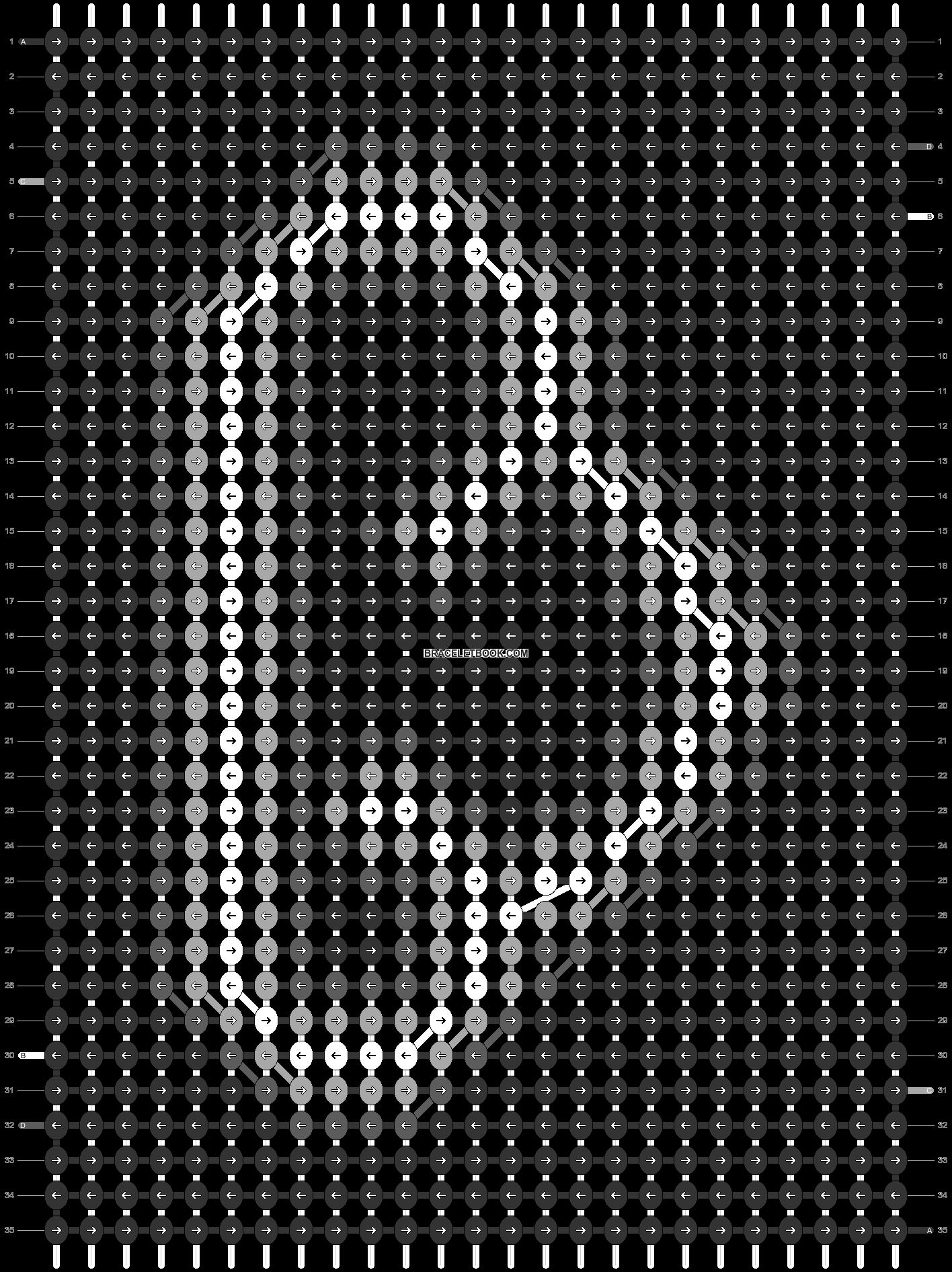 Alpha pattern #53892 pattern