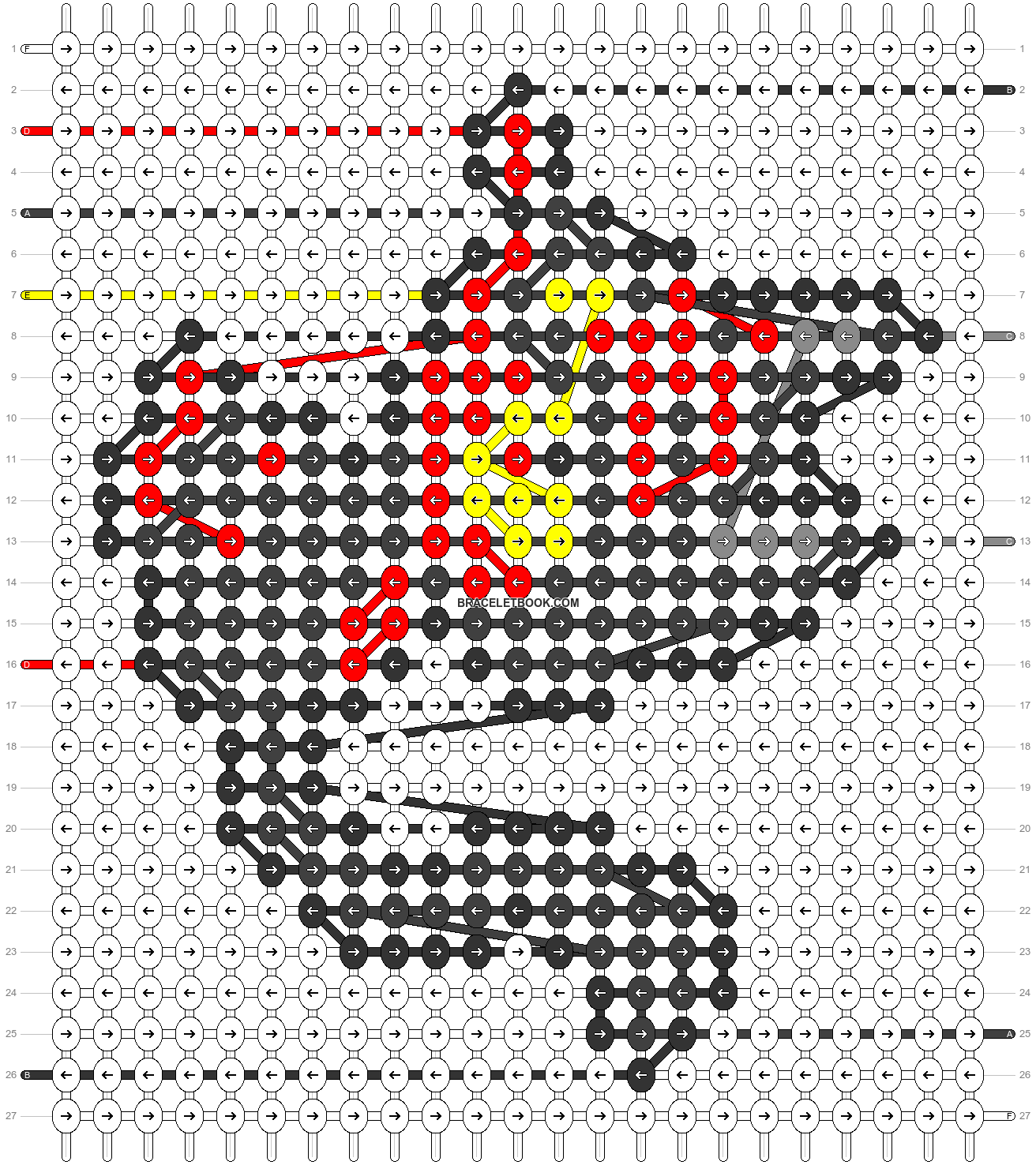 Alpha pattern #53894 pattern