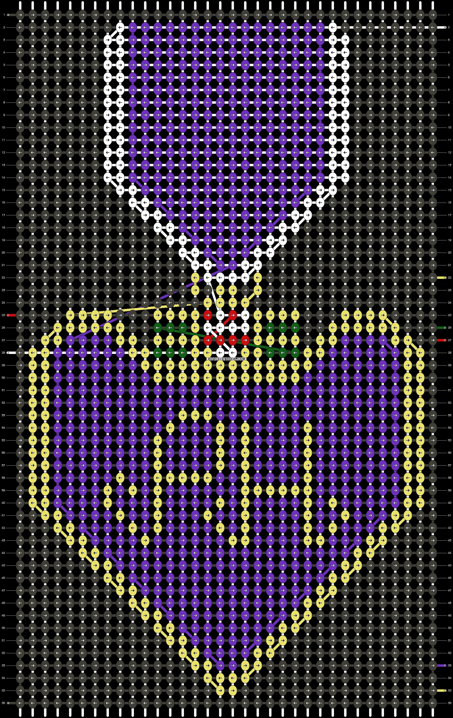 Alpha pattern #53896 pattern