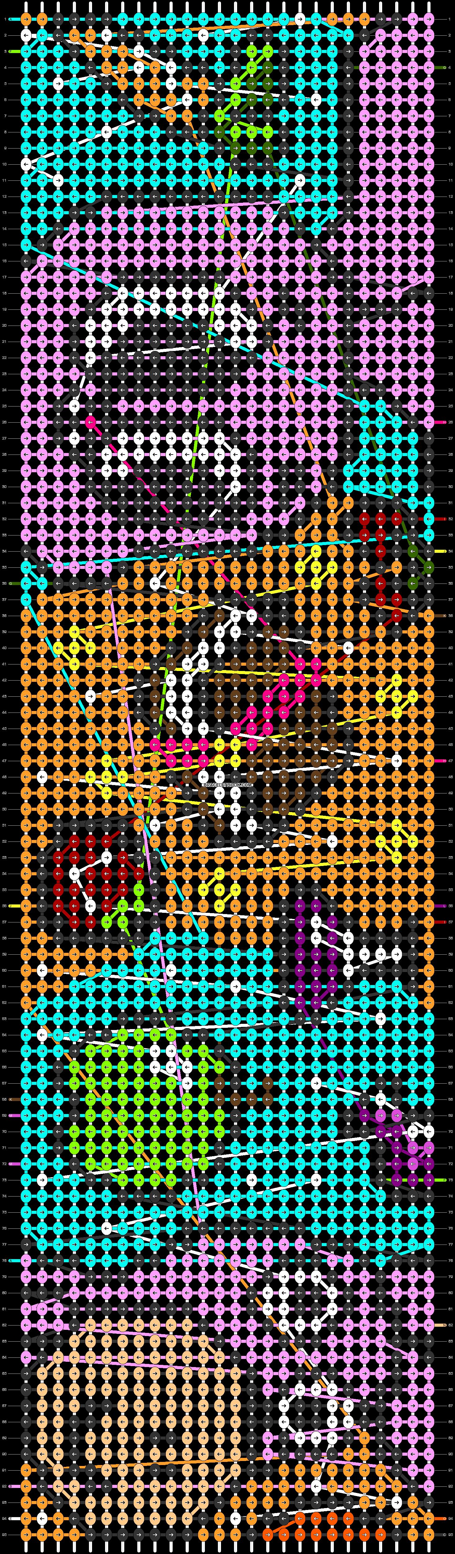 Alpha pattern #53904 pattern