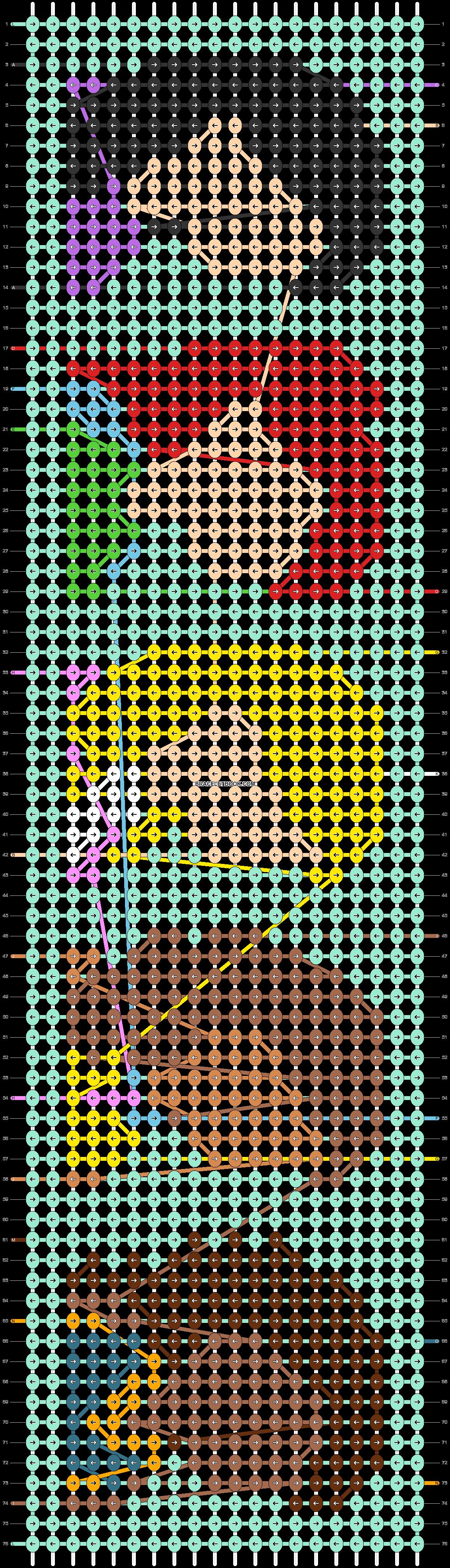 Alpha pattern #53910 pattern