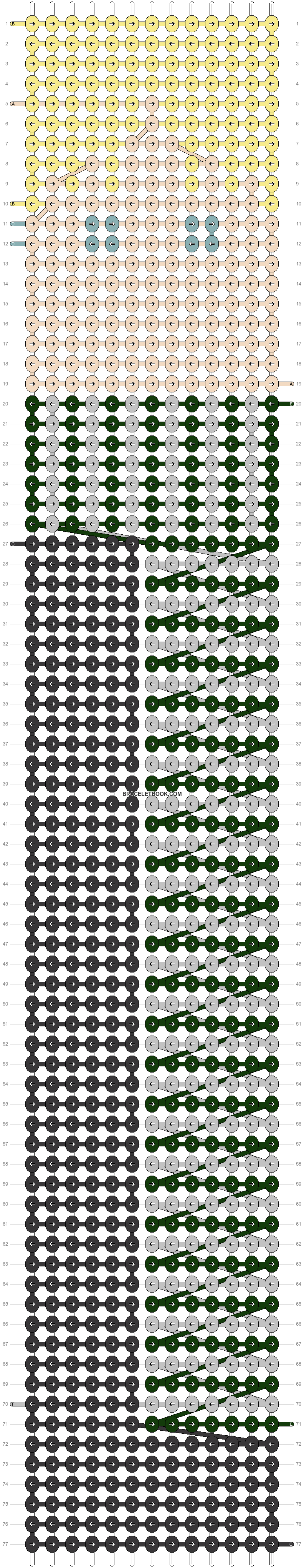 Alpha pattern #53932 pattern