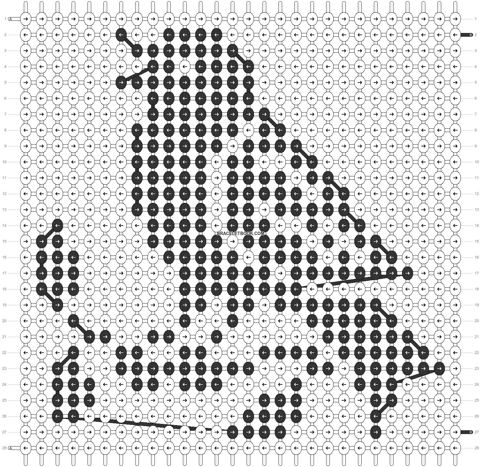 Alpha pattern #53944 pattern