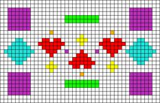 Alpha pattern #53948