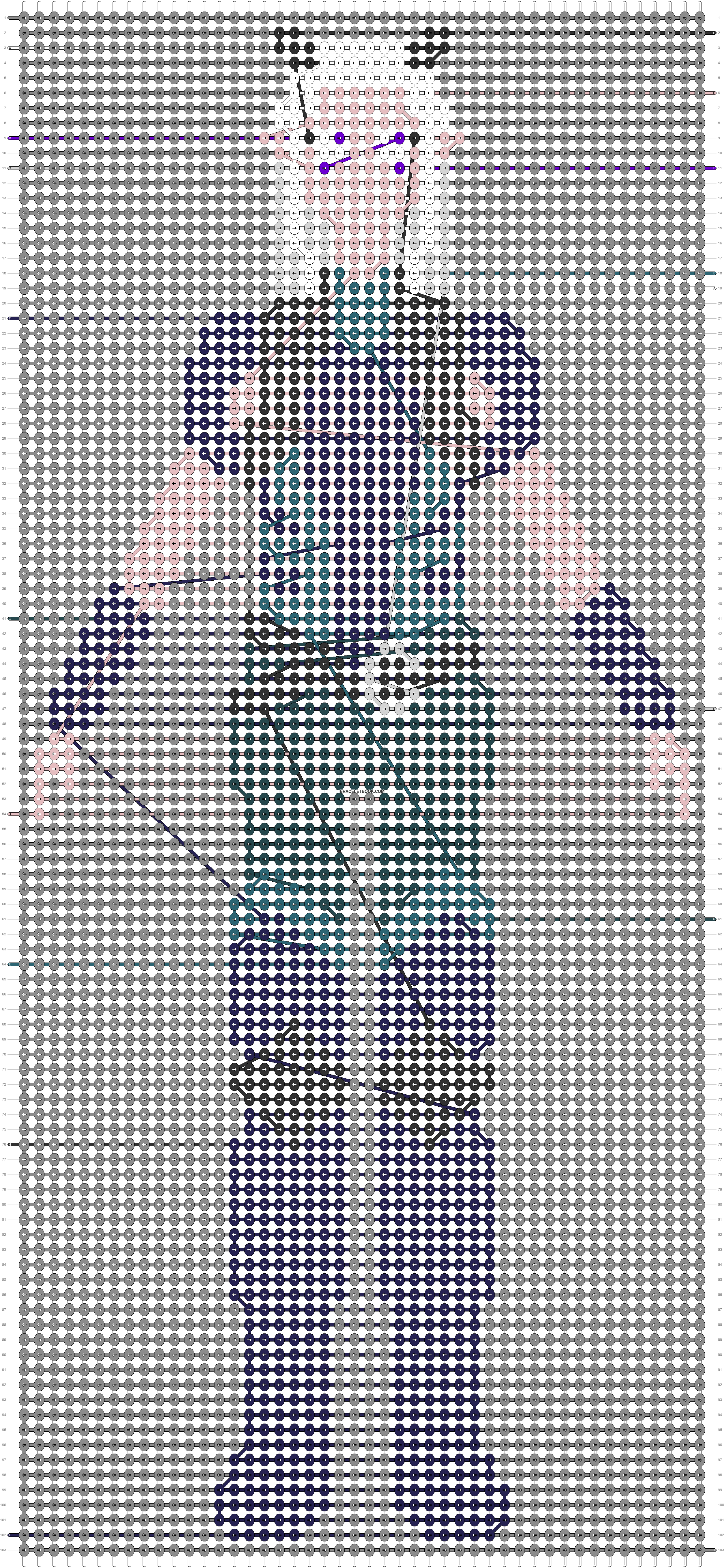 Alpha pattern #53966 pattern