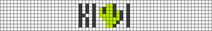 Alpha pattern #53984