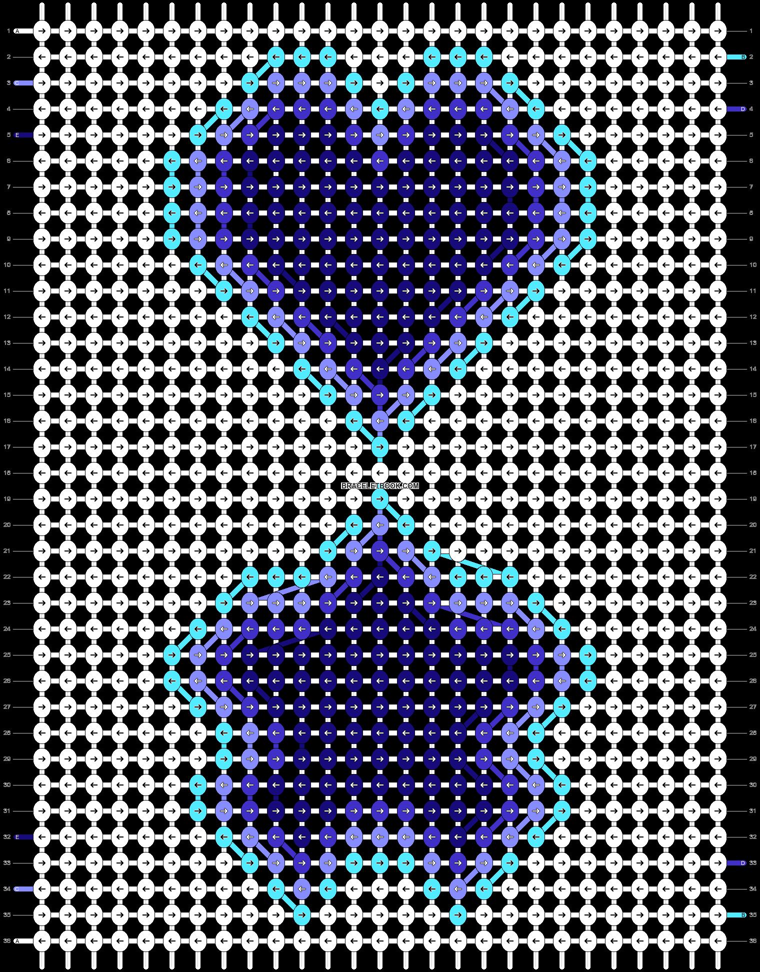 Alpha pattern #54000 pattern