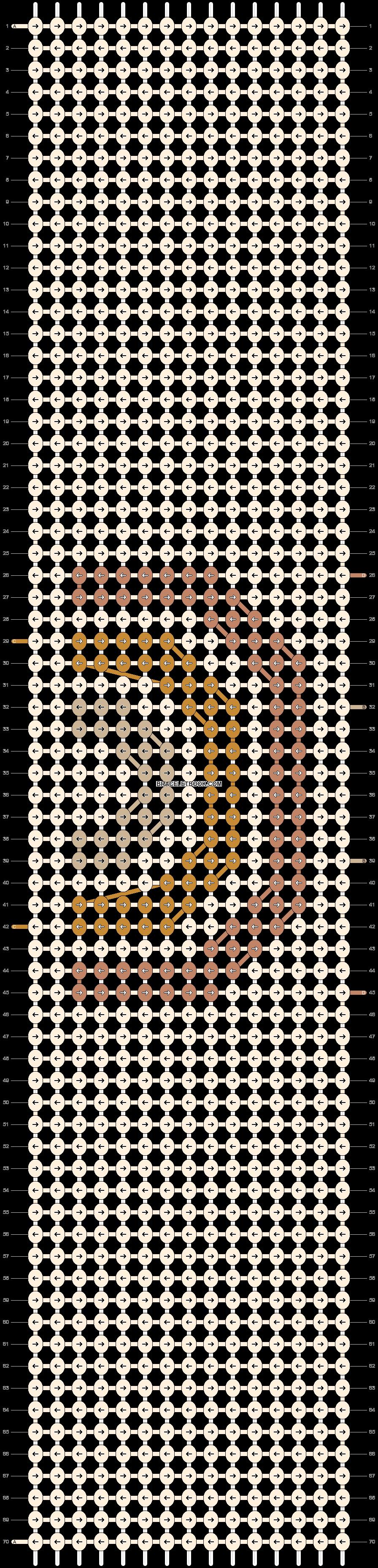 Alpha pattern #54001 pattern