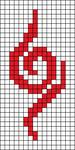Alpha pattern #54062