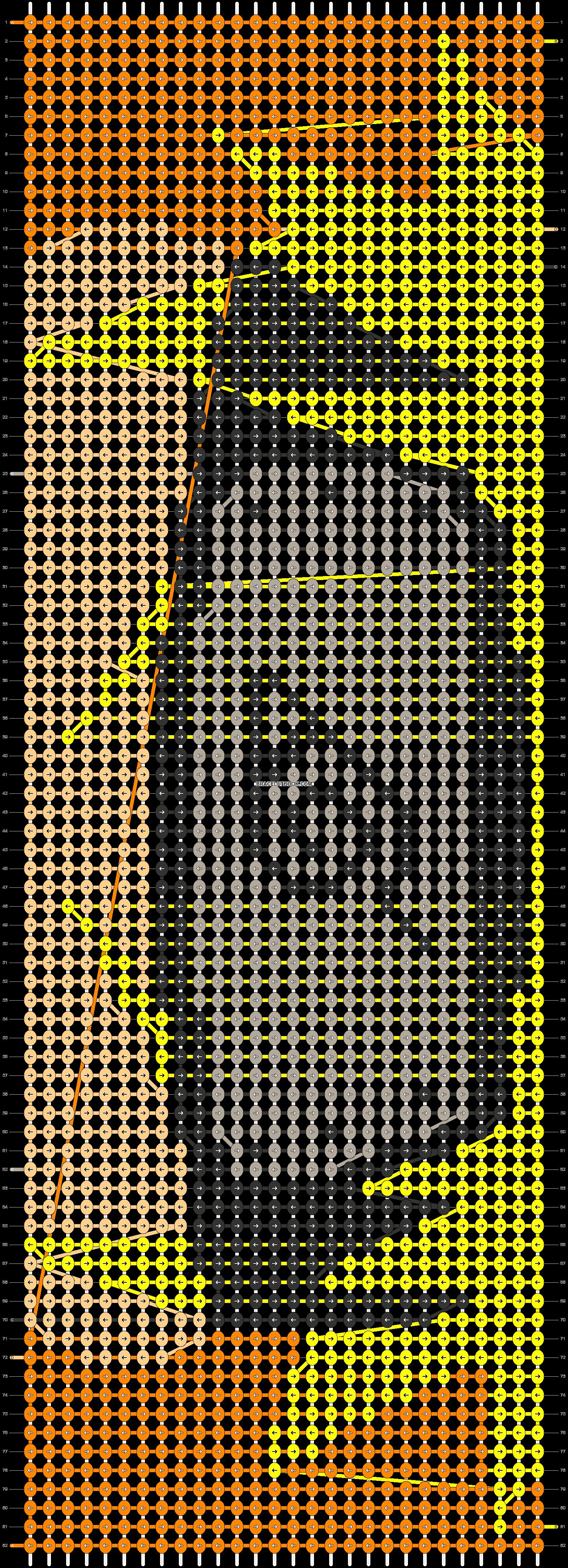 Alpha pattern #54069 pattern