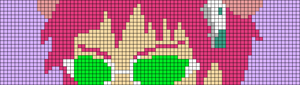 Alpha pattern #54076