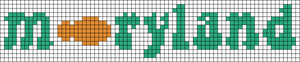 Alpha pattern #54092