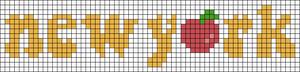 Alpha pattern #54099