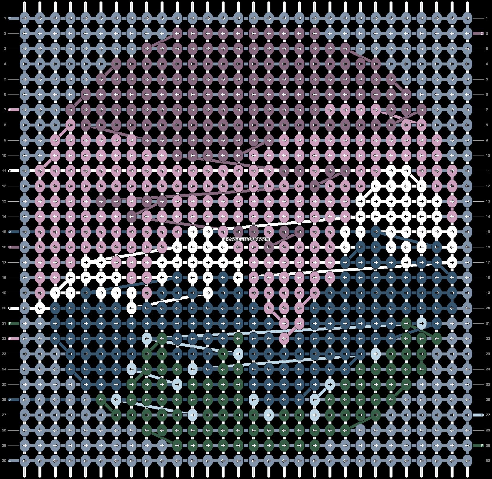 Alpha pattern #54114 pattern
