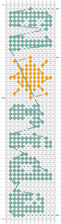Alpha pattern #54135 pattern