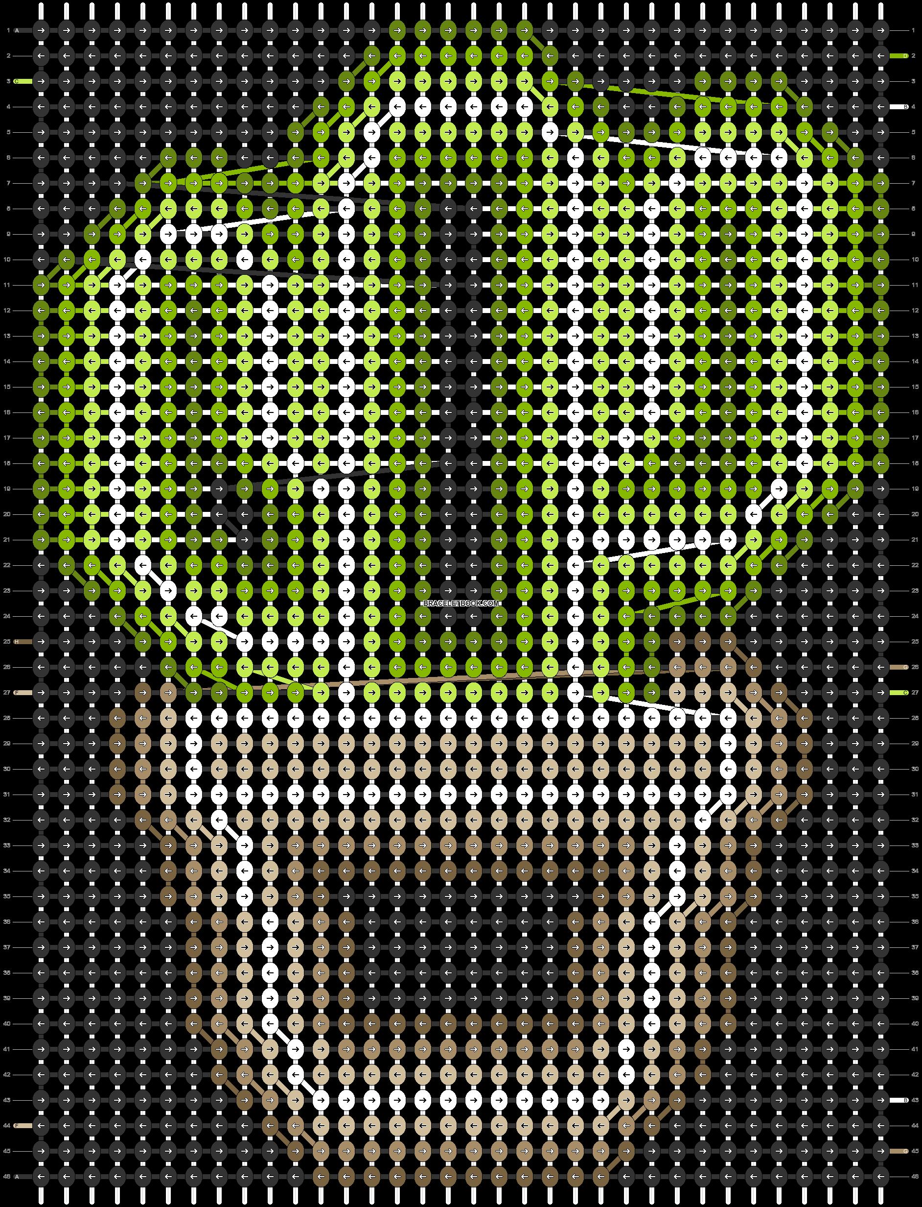 Alpha pattern #54141 pattern