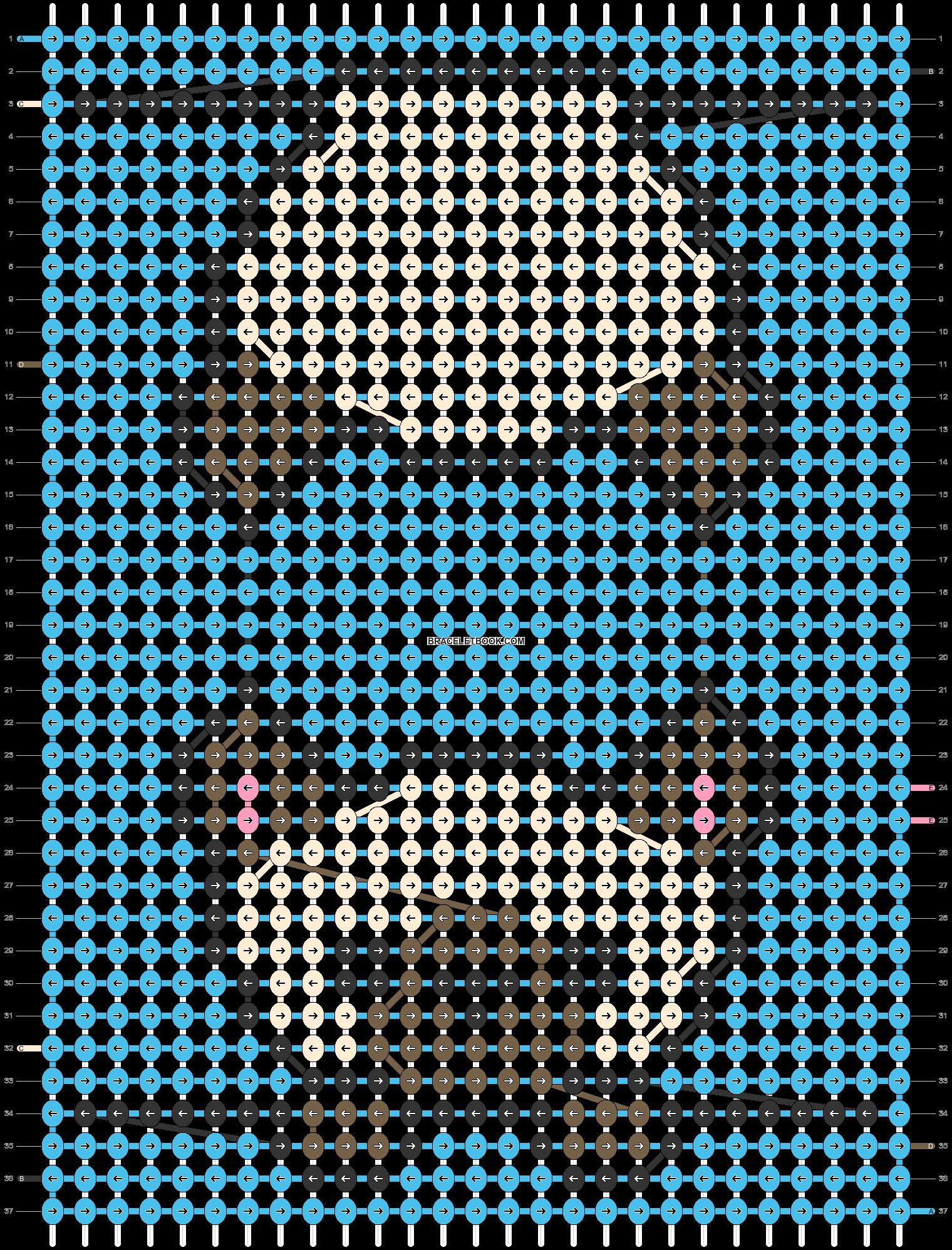 Alpha pattern #54153 pattern