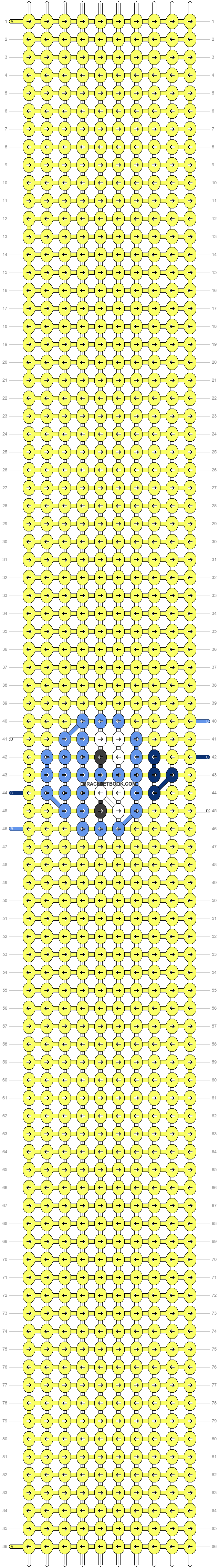 Alpha pattern #54158 pattern