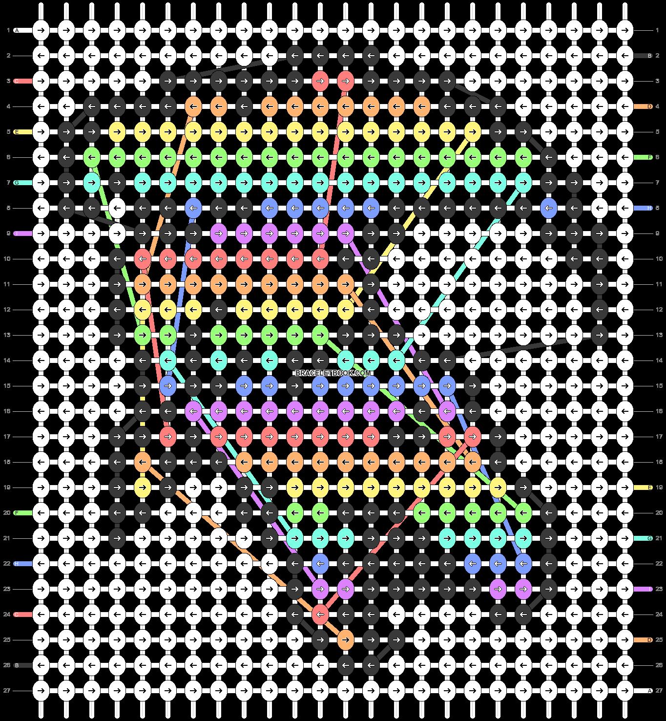 Alpha pattern #54161 pattern