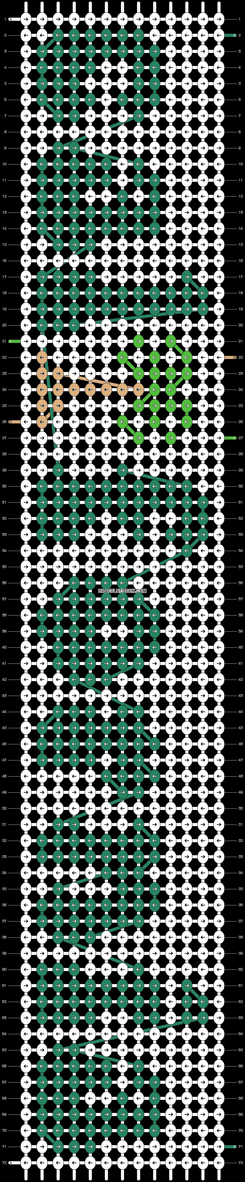 Alpha pattern #54163 pattern