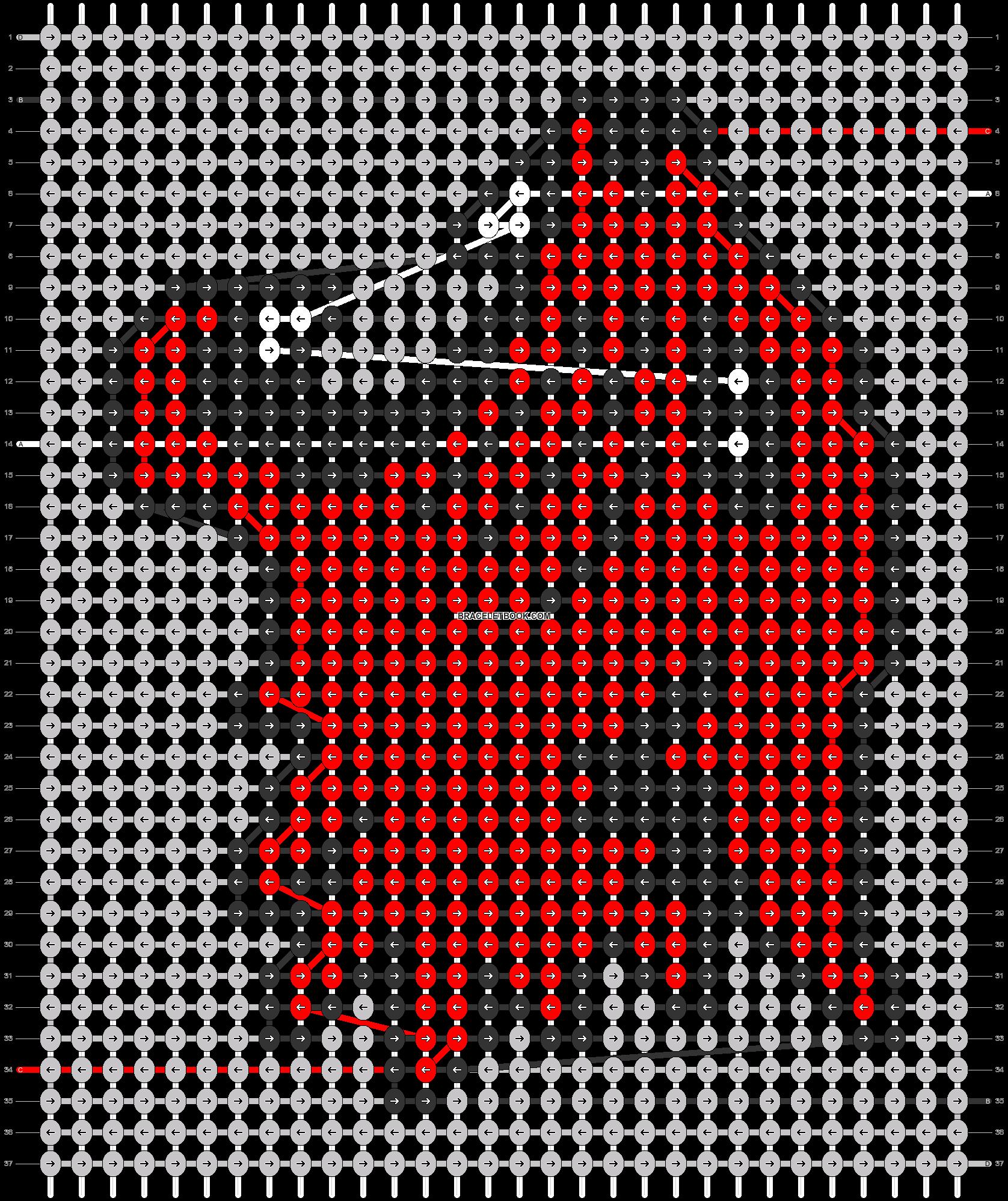 Alpha pattern #54166 pattern