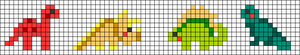 Alpha pattern #54167