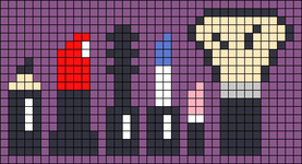 Alpha pattern #54169