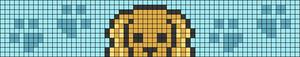 Alpha pattern #54185