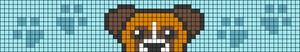 Alpha pattern #54186