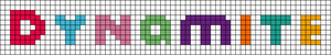 Alpha pattern #54220