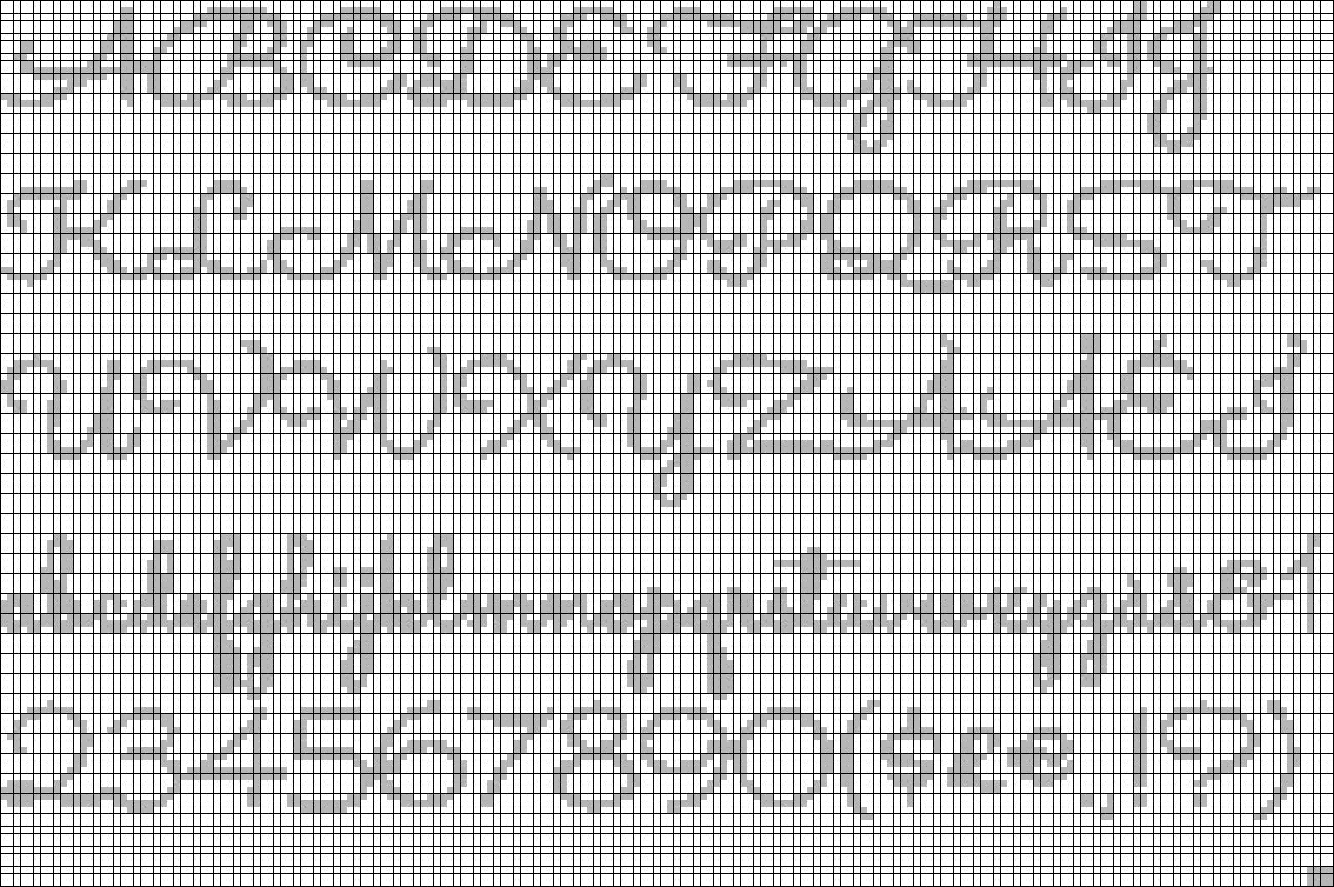 Alpha pattern #54230 preview