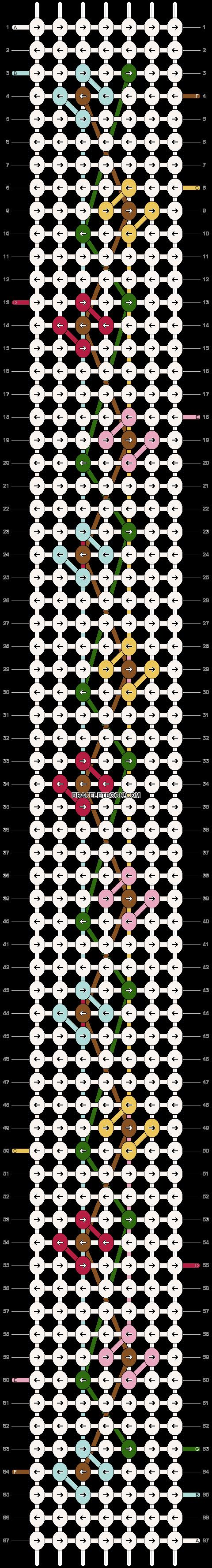 Alpha pattern #54231 pattern