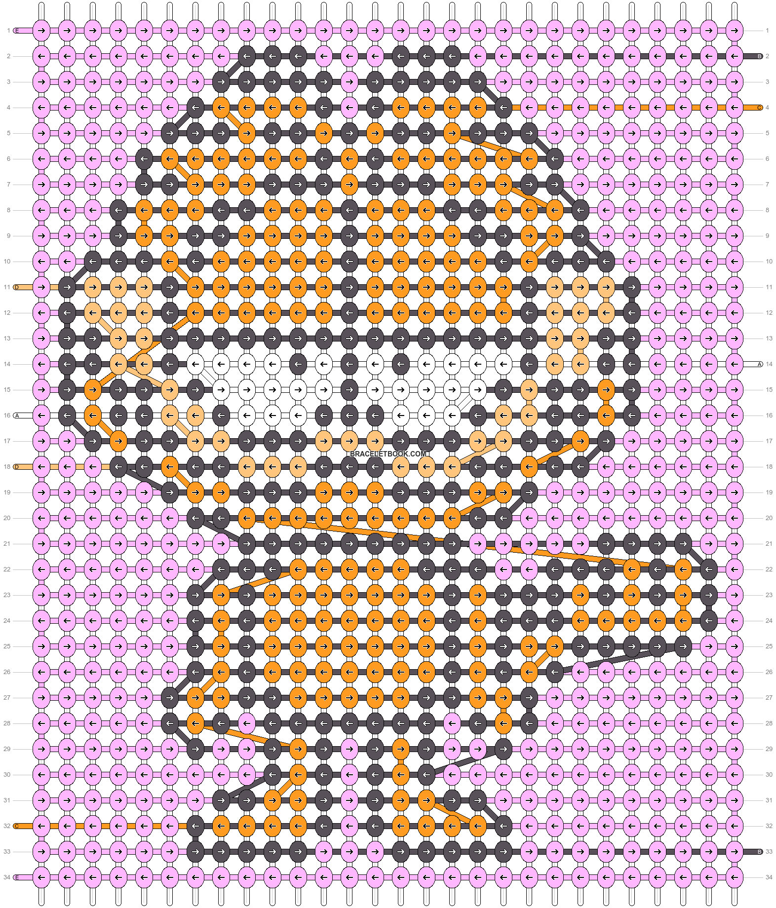 Alpha pattern #54232 pattern