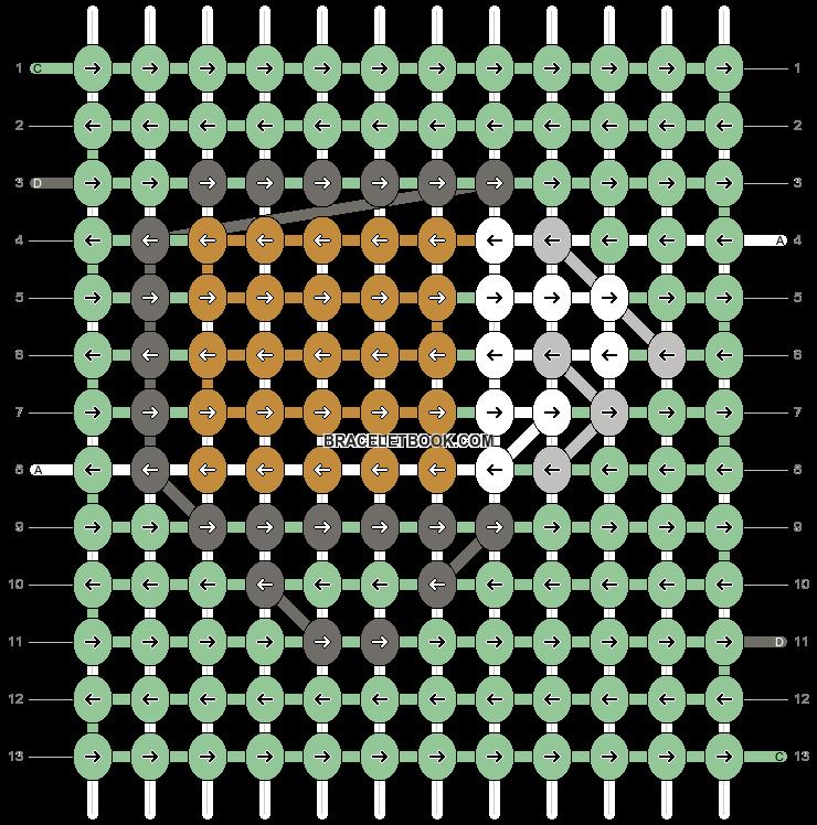 Alpha pattern #54246 pattern