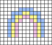 Alpha pattern #54257