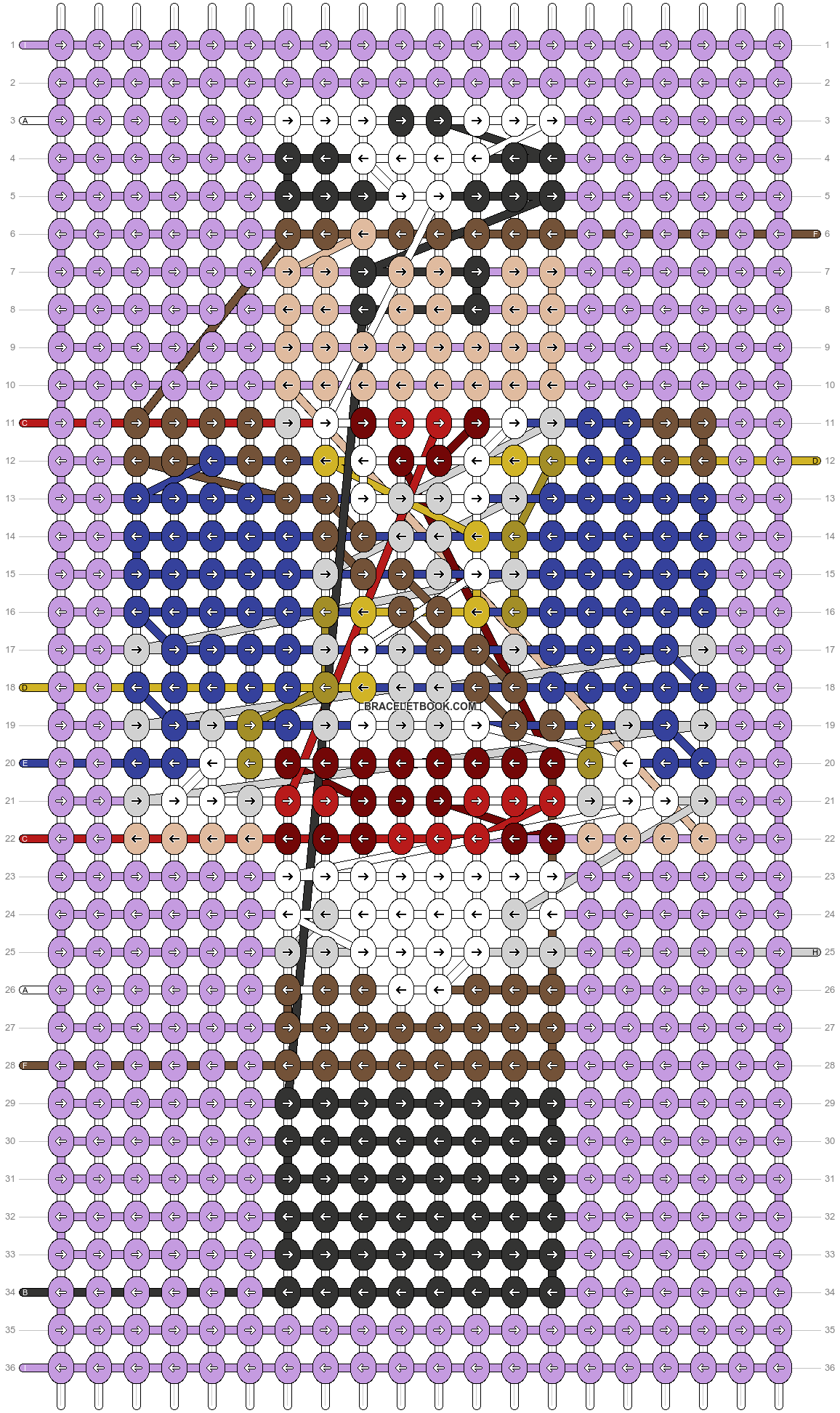 Alpha pattern #54276 pattern