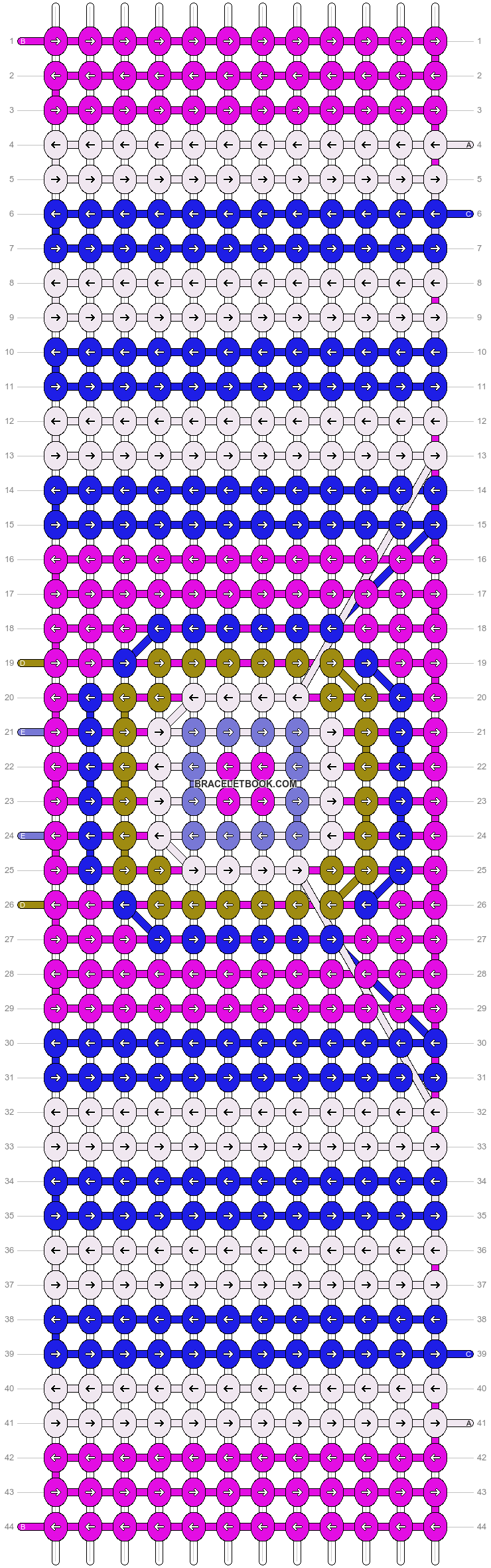 Alpha pattern #54280 pattern