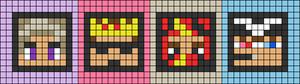 Alpha pattern #54282