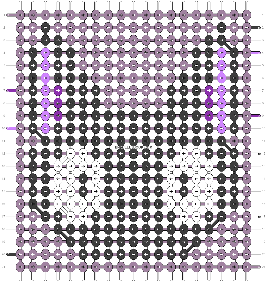 Alpha pattern #54283 pattern