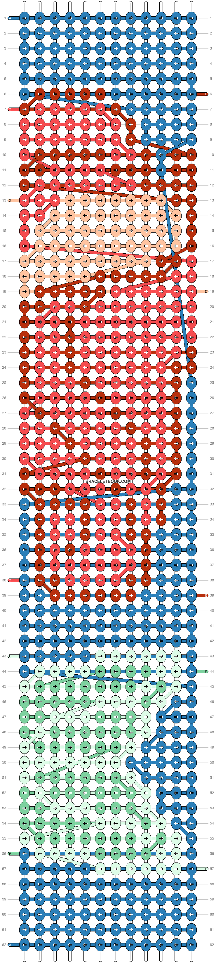 Alpha pattern #54284 pattern