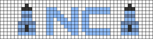 Alpha pattern #54287