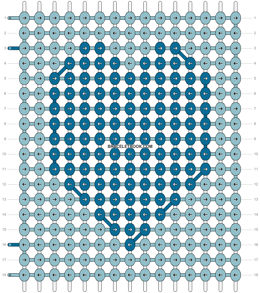 Alpha pattern #54304 pattern