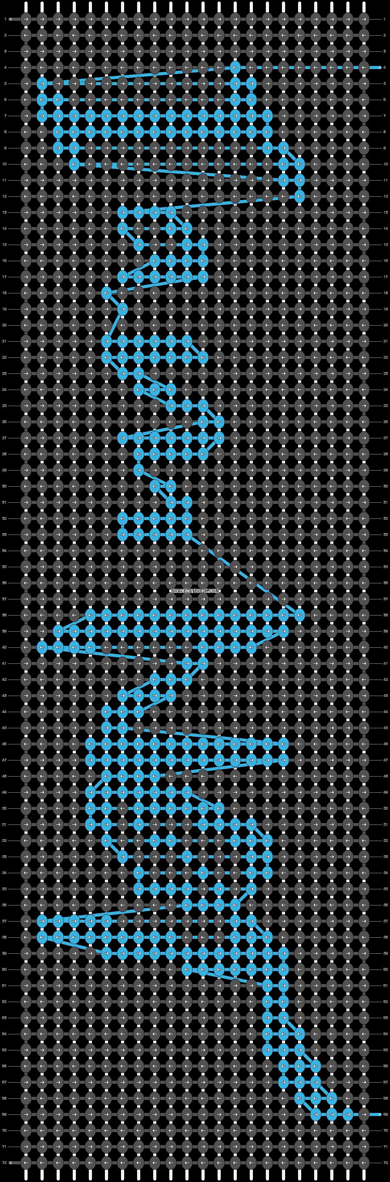 Alpha pattern #54317 pattern