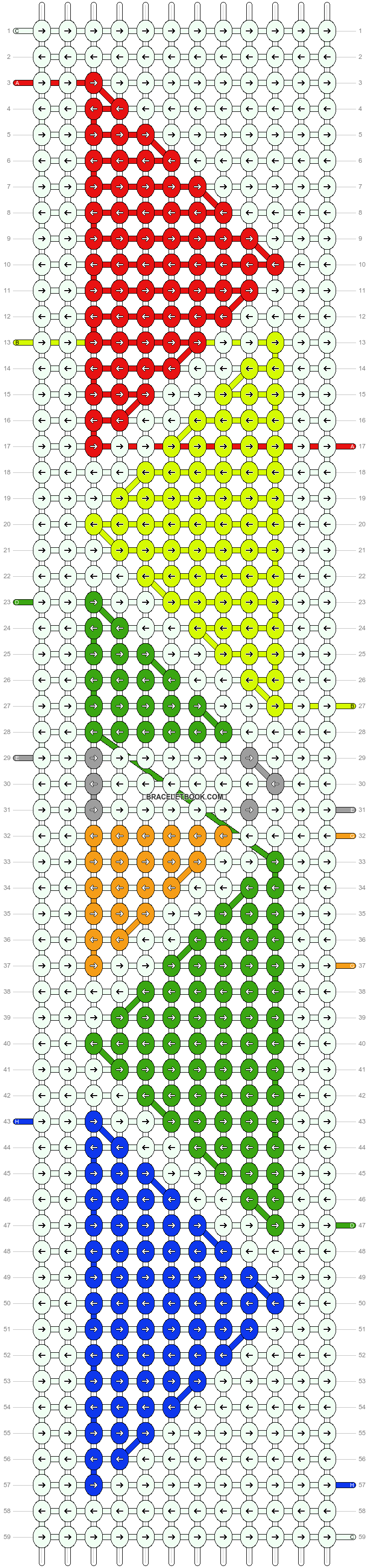Alpha pattern #54324 pattern